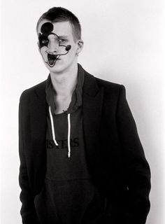 Mickey Mouse on the face! So awesome. Willy Vanderperre