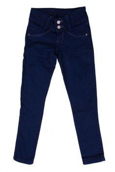 Calça Jeans Fem Juvenil - Linda Calça Jeans Escura para Meninas nos Tamanhos 10, 12, 14 e 16Possui dois lindos botões dourados.Composição98% Algodão02% Elastano Link: https://atacado.com/products/calca-jeans-fem-juvenil-3?utm_source=pinterest&utm_campaign=Review Jeans&utm_medium=Calça Jeans Fem Juvenil
