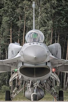 F-16 with conformal fuel tanks, handy on that long trip to Tehran.
