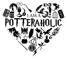 I'm a Potteraholic Harry Potter Shirts, Harry Potter Decor, Harry Potter Quotes, Harry Potter World, Harry Potter Drawings Easy, Harry Potter Stencils, Silhouette Cameo 4, Silhouette Projects, Silhouette Vector