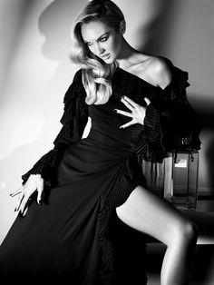 Numéro Tokyo  Angel In The Outfield  September 2012 Issue #59  Model: Candice Swanepoel  Photographer: Alexi Lubomirski