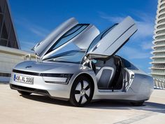 """DailyTech - """"314 MPG"""" Volkswagen XL1 Confirmed for Production"""