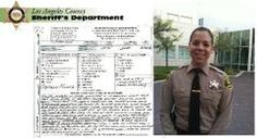 63 Inmates Sign Letter Thanking LASD Deputy For Saving Life of Choking Cellmate - LASD CRDF Jail
