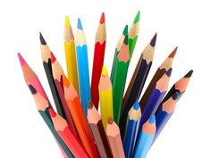 Photo about Bunch of colored pencils, photo taken in lightbox, background is pure white. Image of bunch, colours, colored - 397828 Best Mechanical Pencil, Mechanical Pencils, Pencil Png, Save The World, Colored Pencil Techniques, Pencil Design, Popular Art, Coloured Pencils, Color Pencil Art
