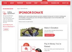 This is what I'm talking about-donation pages that don't let you leave without donating-that's the point!