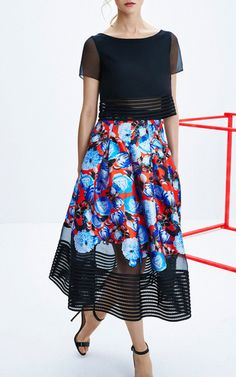 Noir Sachin & Babi Pre-Fall 2015 Trunkshow Look 2 on Moda Operandi (=)