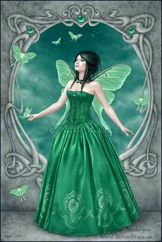 Birthstones - Emerald by twosilverstars on deviantART