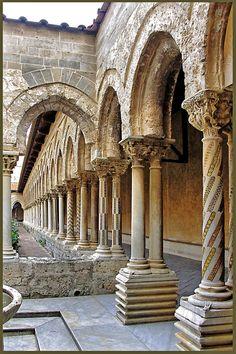 Italy - Sicily: The Monreale Cloister by alberto laurenzi, via 500px