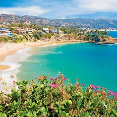 America's Happiest Seaside Towns   6. Laguna Beach, California   CoastalLiving.com....home, sigh....