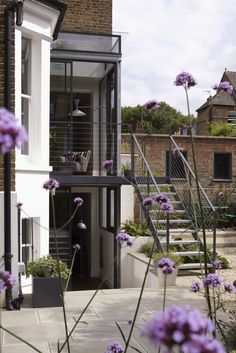 Double height glazed extension   Fulham, London