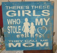 There's these girls who stole my heart.......Wall by hilltopprims