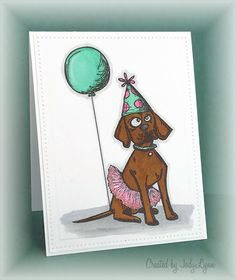 Oh, That Crazy Dog by jodylb - Cards and Paper Crafts at Splitcoaststampers