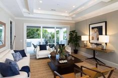 82 Beach Living Room Ideas (Photos) - Home Stratosphere Beach Living Room, Living Room Photos, Living Spaces, Florida House Plans, Coastal House Plans, Balcony Flooring, Southern Homes, Best House Plans, Second Floor