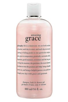 What it is:A three-in-one gel infused with the beloved Amazing Grace fragrance to leave you feeling amazingly clean and beautifully feminine. What it is formulated to do: Amazing Grace Shampoo, Bath & Shower Gel is an award-winning shower gel with Perfume Diesel, Pink Perfume, Sephora, Philosophy Products, Philosophy Skin Care, Philosophy Amazing Grace, Shower Gel, Bath Shower, Instagram Blog