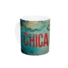 "iRuz33 ""Chicago"" Ceramic Coffee Mug"