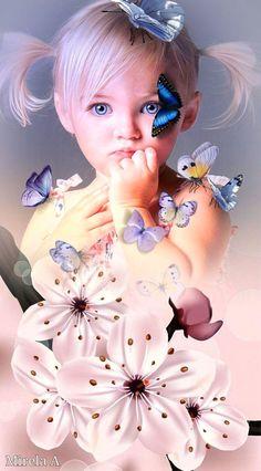 Beauty In Art, Beauty Shoot, Cute Kids Pics, African Art Paintings, Iphone Wallpaper Tumblr Aesthetic, Cute Little Girls, Beautiful Children, Cute Baby Animals, Fantasy Characters