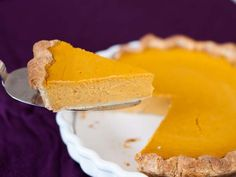 An extra-smooth and creamy pumpkin pie filling. The secret ingredient is cream cheese, which gives it a smooth, rich texture, and a mild tang. Substitute sugar for sweeener.