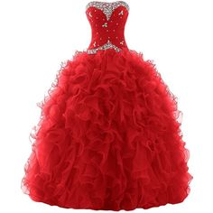 Sunvary 2015 Rhinestone Pleated Ball Gown Prom Dresses for Quinceanera Long Red Homecoming Dresses, Long Prom Gowns, Quinceanera Dresses, Long Dresses, Dress Long, Quinceanera Ideas, Formal Dresses, Long Red Evening Dress, Red Evening Gowns