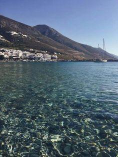 Amorgos Ocean Pics, Ocean Pictures, Corfu, Crete, Vacation Destinations, Dream Vacations, Santorini Villas, Myconos, Greece Travel
