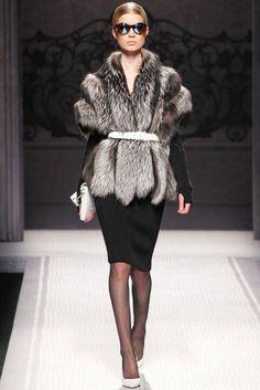 Alberta Ferretti-Fur Real
