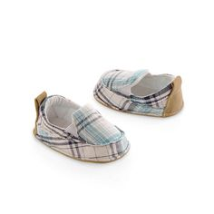 "Goldbug Boy Plaid Surfer Slip on Shoes - Goldbug - Babies ""R"" Us"