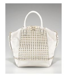 valentino domed rockstud tote. amazing.