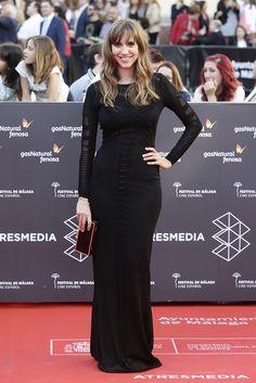 Festival de Málaga 2016. Aina Clotet con vestido de Guess