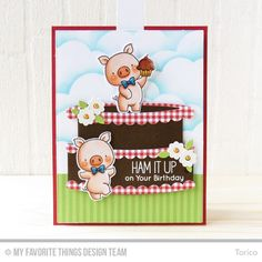 Twice the Wishes Card Kit - Torico  #mftstamps