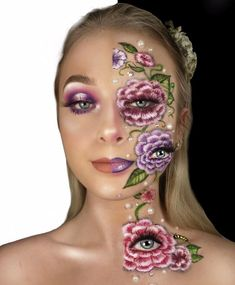 This was my entry for the Next Face of Mehron!