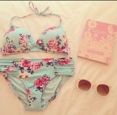 This swimsuit is adorable.