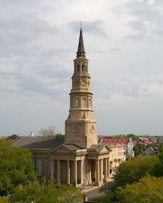St. Philip's Church, Charleston, SC. I'd love to attend services here, just once.