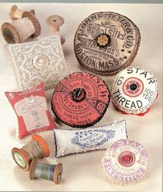 Vintage sewing supplies by martha