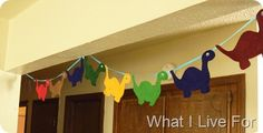 Grab the diecut machine at school or the Cricut at home and create an awesome dinosaur banner to hang anywhere in your classroom. {And you can make it to match your color scheme!!}