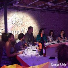 Una de nuestras catas sensoriales en #CampoViejo #StreetsOfColour #Madrid 2014