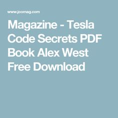How to make him desire you obsessively archives pdf free download tesla code secrets pdf book alex west free download tesla code secrets pdf book alex west fandeluxe Images