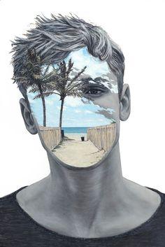 Painting by Beau Bernier Frank…