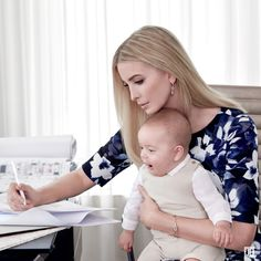 Ivanka wears a lot of hats, but see which role she loves the most. #WomenWhoWork