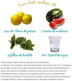 Suco anti-inchaço II Via: http://patriciadavidson.com.br/blog/sucos-verdes/