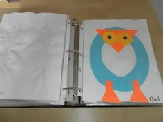Nog beter dan 'de letter van de week knutselwerkjes': Een boek vol met knutselwerkjes bij elke letter, zodat de kinderen dat kunnen lezen!