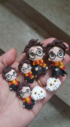 Harry Potter polymer clay