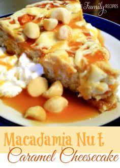 A little time consuming - but, SO worth it!!! #cheesecakerecipe #whitechocolatecheesecake #macadamianutrecipe