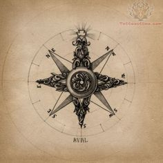 Compass Tattoo. I really like this one