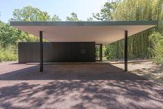 Deerfield Road – modern – exterior – new york – JKRC- Jason Klinge Residential Contracting Carport Sheds, Carport Plans, Carport Garage, Pergola Carport, Car Porch Design, Roof Design, House Design, Carport Designs, Pergola Designs