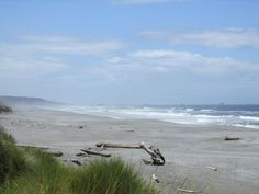 Pacific Coast Oregon to Washington State