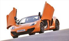 McLaren MP4-12C...a relative of mine test drives these for McLaren :)