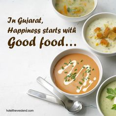 In Gujarat, happiness starts with Good food...