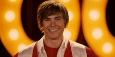Check out all the awesome troy bolton gifs on WiffleGif. Including all the zac efron gifs, high school musical gifs, and vanessa hudgens gifs. Zac Efron High School, Charlie St Cloud, Zac And Vanessa, Old Disney Channel, High School Musical 3, Troy Bolton, Dream Boyfriend, Dream Guy, Handsome Boys