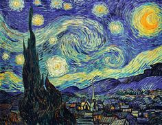 The Starry Night, Paintings by Vincent van Gogh