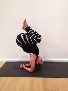 Kathryn Budig Yoga Challenge Pose: Charging Scorpion
