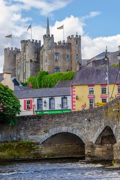 Enniscorthy Castle ~ is an imposing Norman stronghold, which dates back to 1205 and was a private residence until 1951, located in County Wexford, Ireland.